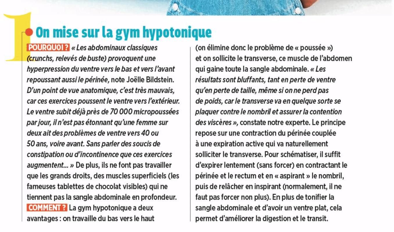 article Top santé