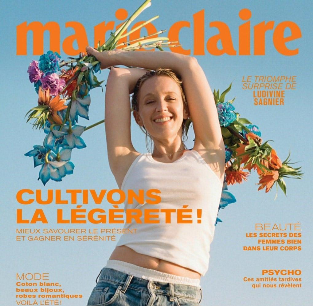 Couverture Marie-Claire mai 2021