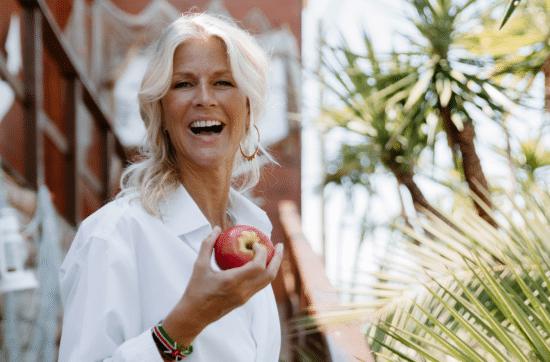 Tentation sucrées de l'été, Joëlle Bildstein, TBL, The Belly Lab, pomme, joie, rire