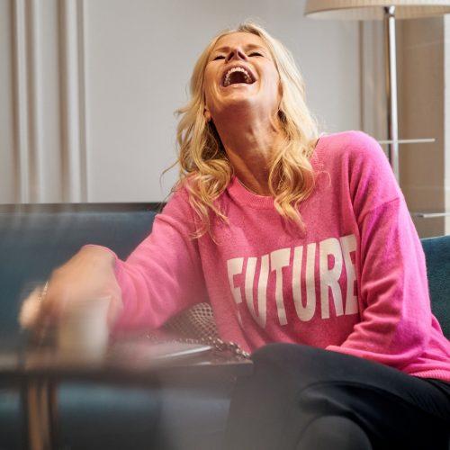 Bonheur joie rire